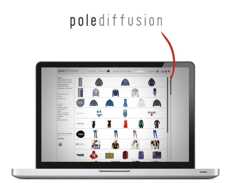 polediffusion e-commerce